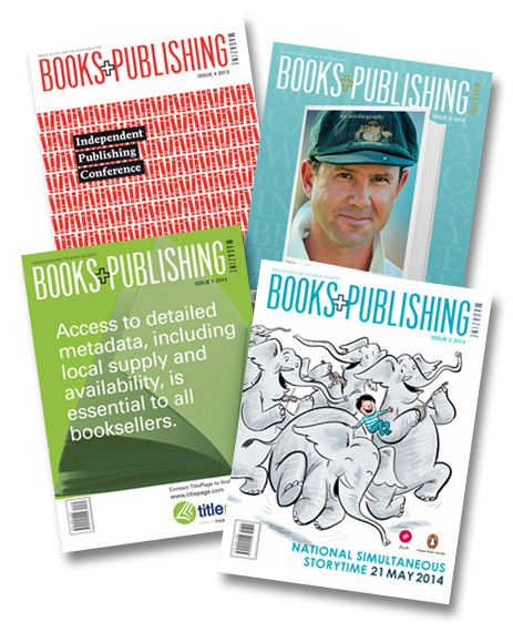 BooksAndPublishing Australia's Number One Source for information about books and publishing available at a discount for MyIdentifiers Customers